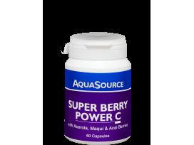 Супер Плодова Енергия С - 60 капсули  AquaSource